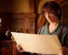 Elijah Wood as Frodo Baggins in 'The Hobbit: An Unexpected Journey'