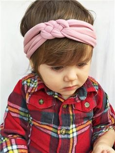 Rose pink baby sailors celtic knot by turbansfortots on Etsy