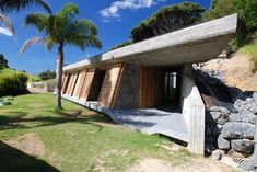 Concrete Structure with Living Roof