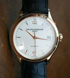 Baume & Mercier Clifton Watches Hands On   baume mercier