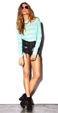 Cropped Open Knit Sweater  Forever21.com