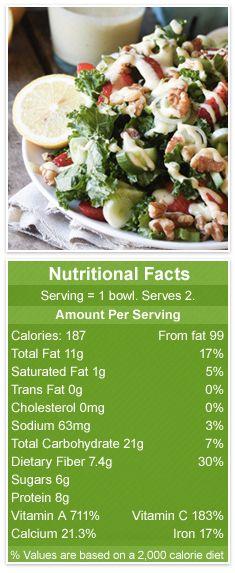 Strawberry Walnut Kale Salad Meatout Mondays 15-04-27