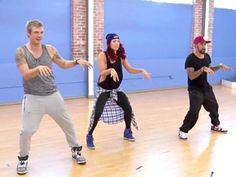 Nick Carter, A.J. McLean and Sharna Burgess on DWTS