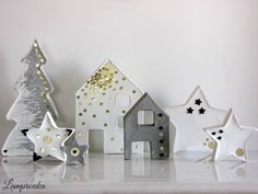 Lamprouka: Χριστουγεννιάτικα στολίδια από τσιμέντο.