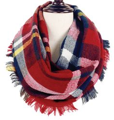 New Dimensions - I've #Plaid the Time of My Life Woven #Infinity #Scarf, $14.00 (http://lolojewelry.com/ive-plaid-the-time-of-my-life-woven-infinity-scarf/)