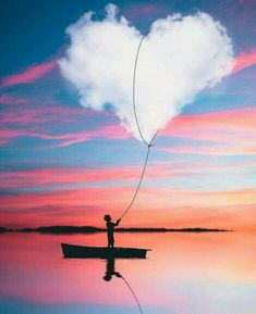 Amazing Photoshop Photography Pictures, Boy with heart