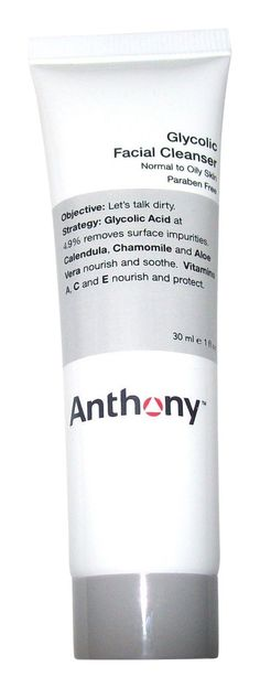 Anthony Glycolic Facial Cleanser, 1 Fl Oz ** This is an Amazon Affiliate link. Click image for more details.