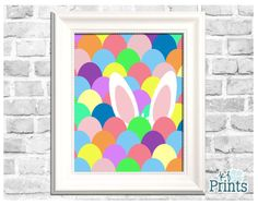 Easter bunnies and Easter eggs go together like bread and butter! The adorable bunny ears in this Easter print is hiding in a sea of colorful Easter eggs is an adorable print that will look perfect with all of your Easter decor! -Technical Details- This product comes as a .jpeg file. It is sized at 8x10. -About Your Order- All of KFPrints products are digital prints for you to print on your own home printer or at a print shop near you. You will receive a link to your very special download…