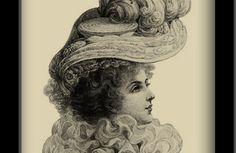 La mode des chapeaux en 1902