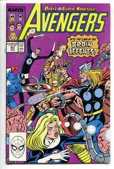 Avengers 301 Marvel 1988 NM Thor Captain America Fantastic Four