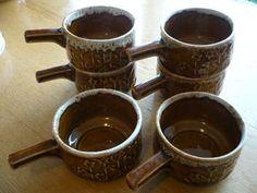 6 x Sunflower Ramekins for sale on Trade Me, New Zealand's auction and classifieds website Honey Glaze, Porcelain, Pottery, Crown, Dishes, Mugs, Tableware, Ceramica, Porcelain Ceramics