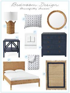 Bedroom Retreat, Bedroom Decor, Entry Way Design, Dining Room Design, Coastal Decor, Painted Furniture, House Design, Seaside, House Styles