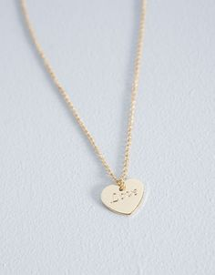 Bershka Turkey - Heart necklace