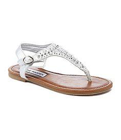 Steve Madden Girls JBeyond Flat Sandals #Dillards