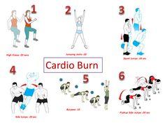 Week #6-Cardio Burn