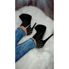 Kotníčky s ostňami veľ. 38 Booty, Ankle, Boutique, Heels, Fashion, Heel, Moda, Swag, Wall Plug
