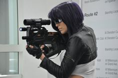 Ghost in the Shell GITS Anime Expo 2012  by ~JuniorAfro on deviantART; Costumes & Cosplay