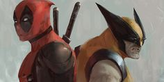 Wolverine Deadpool Painting by Warrick Wong Hugh Jackman Teases The Wolverine Sequel; New Deadpool Images
