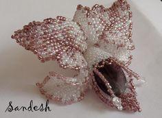Не первая орхидея.. | biser.info - всё о бисере и бисерном творчестве