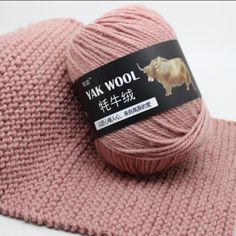 Worsted Middle Thick Thread Blended Soft Baby Wool Yarn Yak Cashmere for Hand Knitting by mm Crochet Needle Crochet Needles, Crochet Yarn, Knitting Yarn, Hand Knitting, Wool Thread, Wool Yarn, Cheap Yarn, Velvet Scarf, Thick Thread