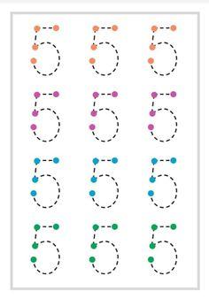 Homeschool Preschool Curriculum, Preschool Writing, Numbers Preschool, Kindergarten Math Worksheets, In Kindergarten, Worksheets For Kids, Learning English For Kids, Preschool Learning Activities, Math For Kids