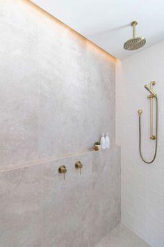 Bathroom Renos, Laundry In Bathroom, Small Bathroom, Bathroom Ideas, Bathroom Organization, Remodel Bathroom, Bathroom Niche, Bathroom Shelves, Bathroom Feature Wall Tile