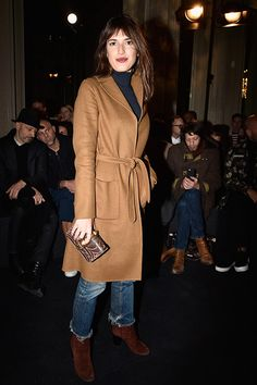 PARIS, FRANCE - JANUARY 20: Jeanne Damas attends the Valentino Menswear Fall/Winter 2016-2017 show as part of Paris Fashion Week on January 20, 2016 in Paris, France. (Photo by Pascal Le Segretain/Getty Images)