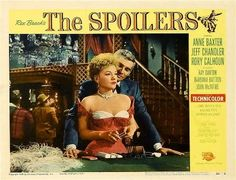 The Spoilers / Les forbans - Jesse Hibbs - 1955 http://western-mood.blogspot.fr/2015/06/the-spoilers-les-forbans-jesse-hibbs.html#links