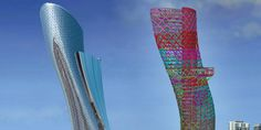 Modeling the complex diagrid members of the Capital Gate tower was managed well with the features of Tekla Structures. Description from tekla.com. I searched for this on bing.com/images