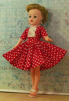 "IDEAL DOLL 'LITTLE MISS REVLON' 10.5"" Vintage 1950s"