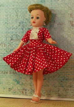 My 20 inch Revlon who is also a rare BEND KNEE doll. She is ...