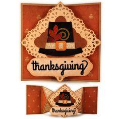 Silhouette Design Store - View Design #159439: turkey pop tab tail a7 card