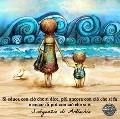 """Una brava tata chiede ai bambini a cosa preferiscono giocare, gli dice """"grazie"""" quando la aiutano e gli chiede """"scusa"""" quando sbaglia. Un adulto che rispetta i bambini deve seguire le loro stesse regole."""