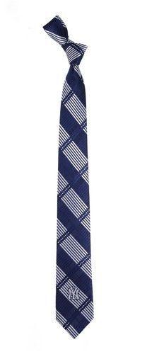 New York Yankees NY Tie Skinny Woven Polyester Necktie