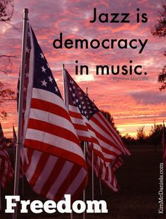 """Jazz is democracy i"