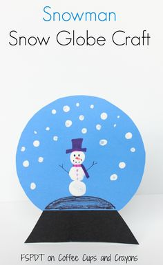 1000 images about winter fun on pinterest winter for Preschool snow globe craft