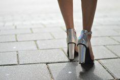 Jardin de la mode: outfitmetallics all the way Today I am wearing a ...
