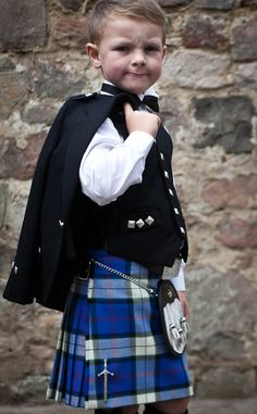 William will have one of these in Both Bruce and Macmillan Tartans.