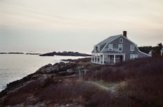 cottage on the rocks
