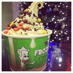 "@chillstudiocity's photo: ""Get in the spirit of the holidays with Eggnog frozen yogurt❄️ #eggnog #frozenyogurt #chill #studiocity #chillstudiocity #11706MoorparkSt #holidays"""