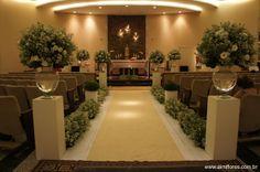 Aimi Flores: Casamento de Hamanda e Leonardo - Capela Santo Antônio 911 Sul
