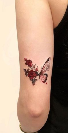 Feed your ink addiction with 50 of the most beautiful rose tattoo designs for men . - Feed your ink addiction with 50 of the most beautiful rose tattoo designs for men and women – fan - 13 Tattoos, Rosen Tattoos, Mini Tattoos, Body Art Tattoos, Small Tattoos, Sleeve Tattoos, Tattoo Drawings, Tattoo Sketches, Tatoos