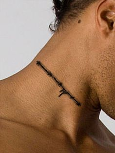 This super creepy scar tattoo really makes your flesh look cut and stitched together. Fool your friends and family! Use this cool tattoo as an arm tattoo, leg tattoo, neck tattoo or place anywhere on
