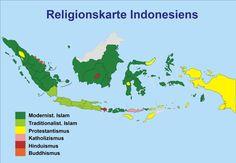 religionen in indonesien map indonesian religions indonesien wikipedia http