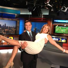 WSB-TV just picked up Katie Couric and so did Justin Farmer