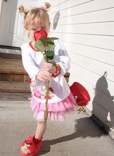 Miyako-Rose Piirainen Bliss on Valentines Day!