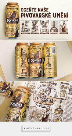 Packaging of the World is a package design inspiration archive showcasing the best, most interesting and creative work worldwide. Label Design, Package Design, Branding Design, Graphic Design, Icon Package, Beer Bottles, Beer Labels, Branding Agency, Can Design