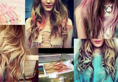 Do It Yourself: Chalk Hair - Necessary Clothing Blog