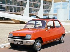 Renault 5 Portugal vacation car. I know it will rust, the roof will leak and tear, the colour will fade and it won't start. However it's beautifully simple and hasn't been indulged in a 21st century make over.