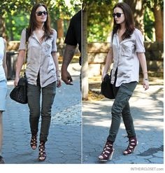 How to Wear Cargo Pants: Wardrobe Basics   Lena PenteadoLena Penteado